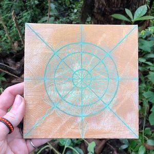Handmade Mini Mandala Painting